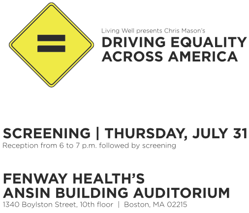 Driving Equality world premiere flyer